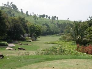 1st Hole Laem Chabang Mountain Course
